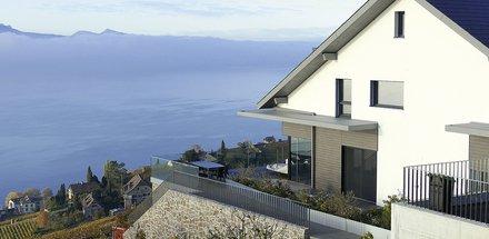 Villas jumelles en Lavaux