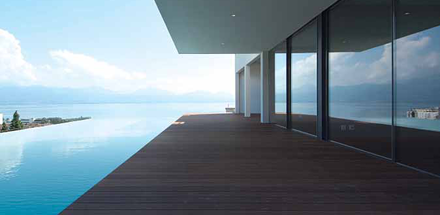 Villa individuelle Minergie avec piscine