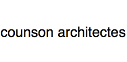 Counson Architectes