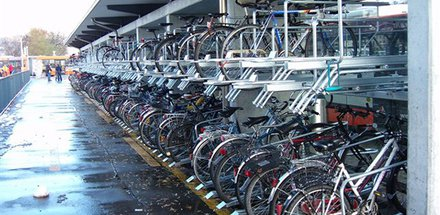 Système de parcage pour vélos