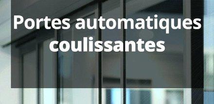 Portes automatiques coulissantes