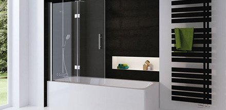 Douches sur baignoire / Salle de bain