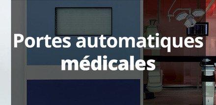 Portes automatiques médicales