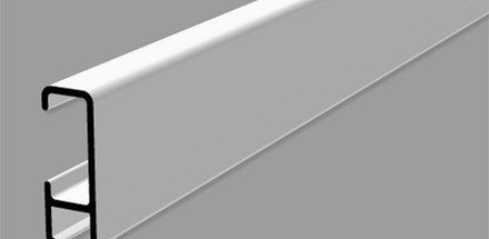 Système de rails pour tableaux et accessoires