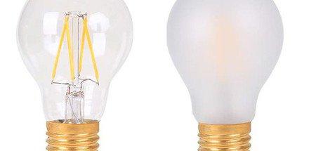 Ampoules filament LED fonctionnel