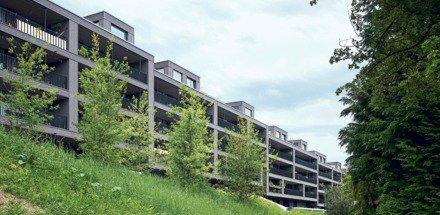 Residential complex, Tièchestrasse