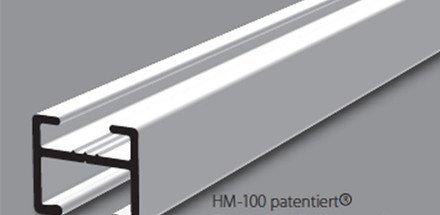 Système de rails de rideaux