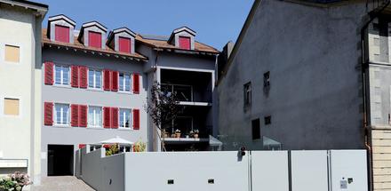 Immeuble de logements à Pully