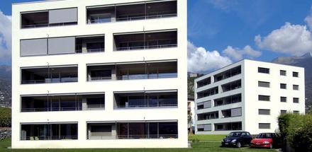 Quartier en Chétroz