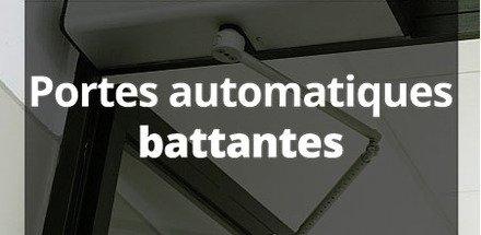 Portes automatiques battantes