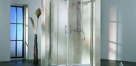 Douches avec profils - dit avec cadre / Salle de bain