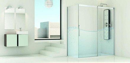 Douches avec profils partiels / Salle de bain