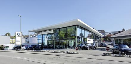 BMW-Haus und Mini-Pavillon - E