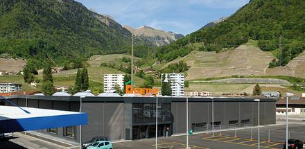 Halle d'exposition Gétaz