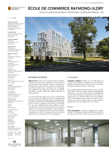 Ecole de Commerce Raymond-Uldry