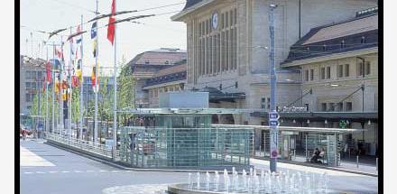 Place de la Gare et Quartier Sous-Gare