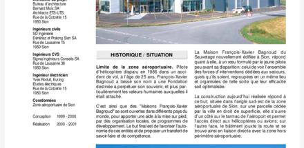 Maison François-Xavier Bagnoud du Sauvetage