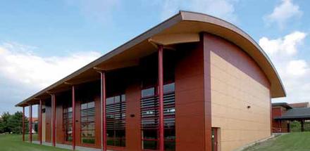 Salle de gymnastique du Cour Champ