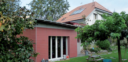 Agrandissement d'une habitation familiale à Thônex