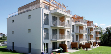 IMMEUBLE DE 16 APPARTEMENTS EN PPE