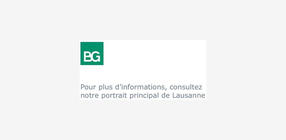 BG Ingénieurs Conseils SA • Fribourg