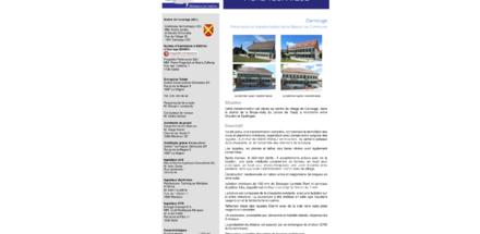 Rénovation de la maison de commune - Carrouge