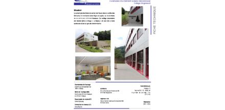 Collège d'Aigremont - Le Sépey