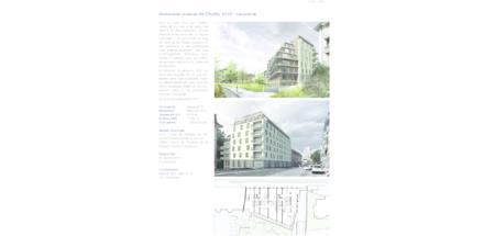 Immeuble avenue de Chailly 10-12 - Lausanne