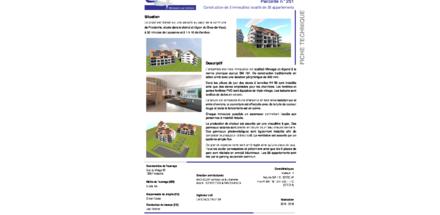 3 immeubles locatifs de 38 appartements