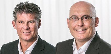 Laurent Petitmermet : Key Account Manager Suisse romande | Thomas Hoffmann : Responsable Marketing & Ventes Suisse