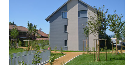 Construction d'un immeuble locatif de 8 logements - Laconnex