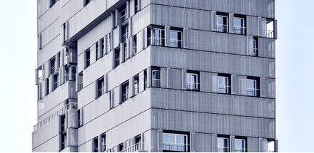 Véritable prouesse architecturale que cet immeuble-tour au volume unique et marquant