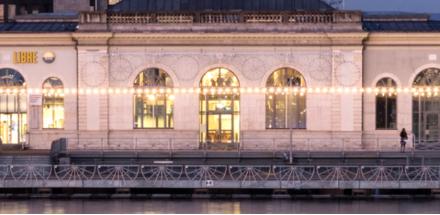 Ce symbole du patrimoine industriel propose un cadre résolument contemporain d'où ressurgissent les traces du passé